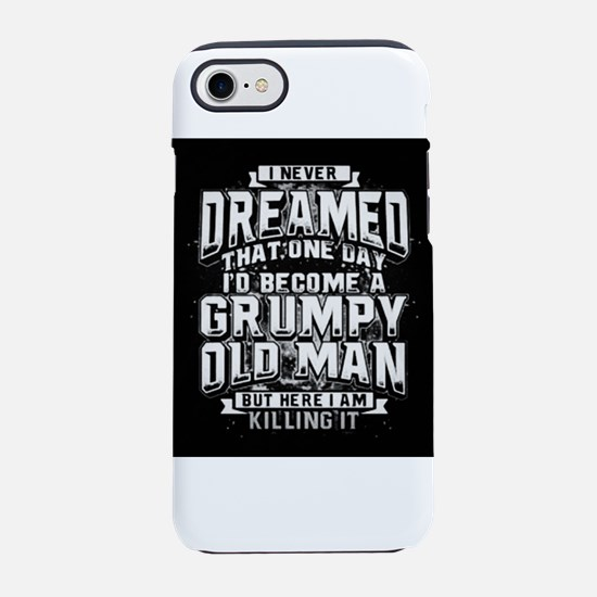 Grumpy old man iPhone 8/7 Tough Case