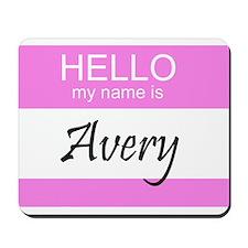 Avery Mousepad