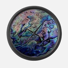 Abalone Large Wall Clock