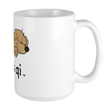 life is qi dog Mug