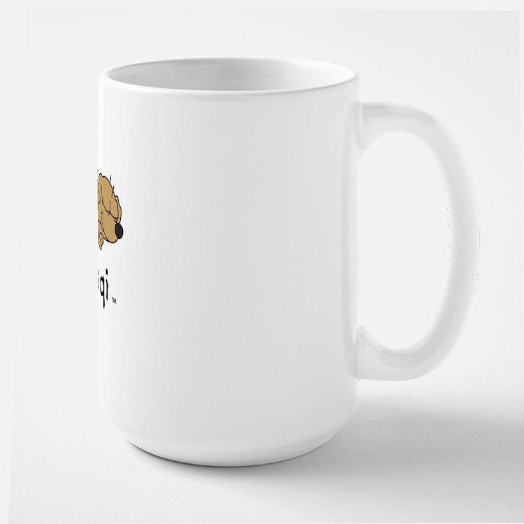 life is qi dog Mug