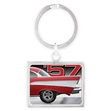 Cool Tires Landscape Keychain