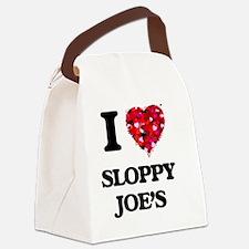 I love Sloppy Joe'S Canvas Lunch Bag