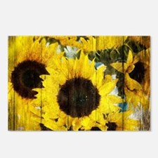 western country yellow su Postcards (Package of 8)