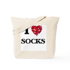 I love Socks Tote Bag