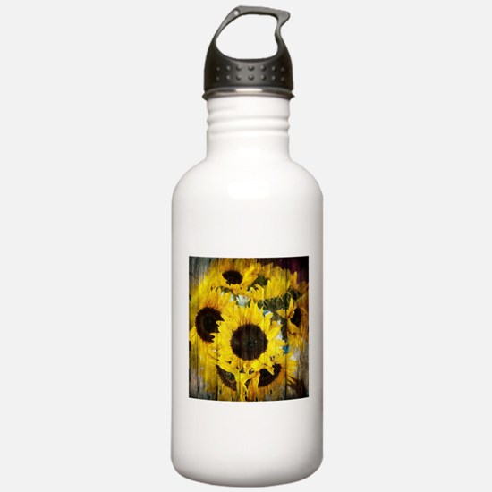 western country yellow Water Bottle