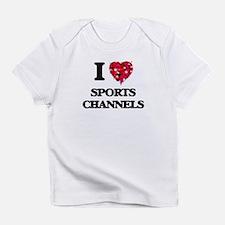I love Sports Channels Infant T-Shirt