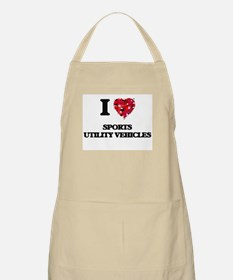 I love Sports Utility Vehicles Apron