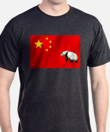Chinese Panda Flag T-Shirt