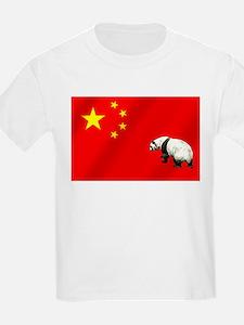 Chinese Panda Flag T-Shirt