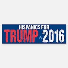 Hispanics for Trump Bumper Bumper Sticker