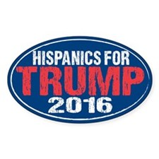 Hispanics for Trump Decal