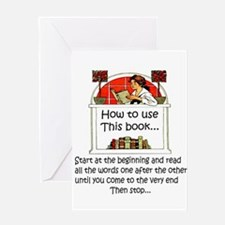 How to use this book Greeting Cards