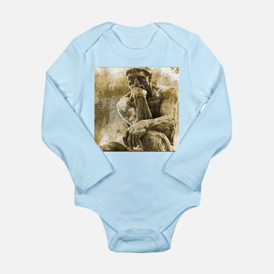 Impressionism sculpture The Thinker Body Suit