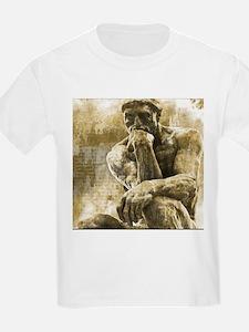 Impressionism sculpture The Thinker T-Shirt
