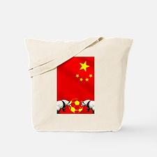 Chinese Football Tote Bag