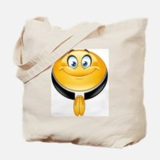 priest emoji Tote Bag