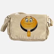 priest emoji Messenger Bag
