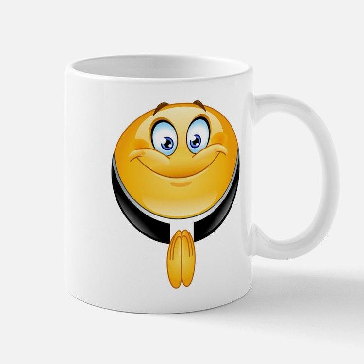 priest emoji Mugs