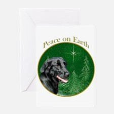 Flat-Coat Peace Greeting Card