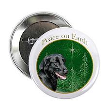 Flat-Coat Peace Button