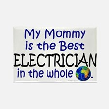 Best Electrician In The World (Mommy) Rectangle Ma