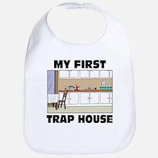 My First Trap house Bib