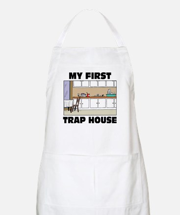 My First Trap house Apron