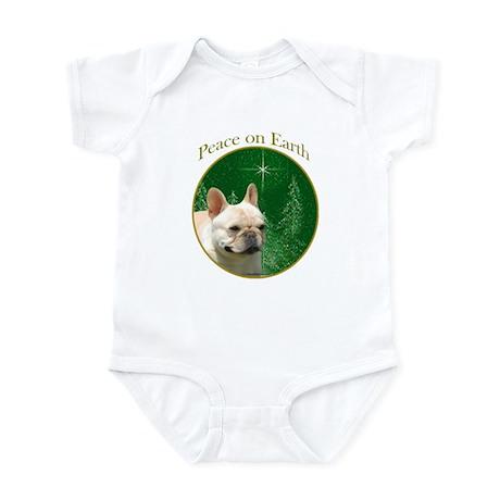 Frenchie Peace Infant Bodysuit