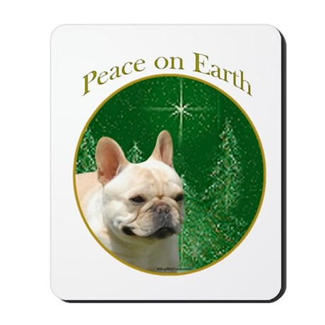 Frenchie Peace Mousepad