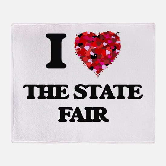 I love The State Fair Throw Blanket