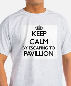 Keep calm by escaping to Pavillion Massach T-Shirt