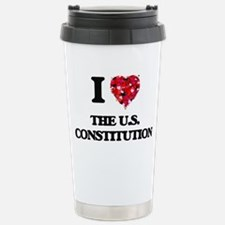 I love The U.S. Constit Stainless Steel Travel Mug