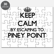 Keep calm by escaping to Piney Point Massac Puzzle