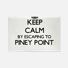 Keep calm by escaping to Piney Point Massa Magnets