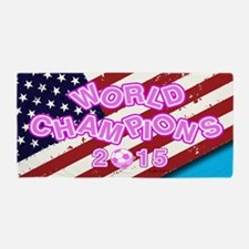2015 World Champions Beach Towel
