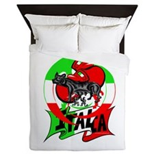 Cute Italian stallion Queen Duvet