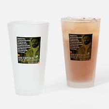 HIM Emperor Haile Selassie I Drinking Glass