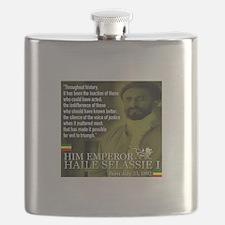 HIM Emperor Haile Selassie I Flask