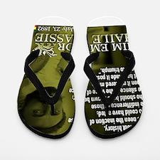 HIM Emperor Haile Selassie I Flip Flops