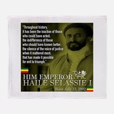 HIM Emperor Haile Selassie I Throw Blanket