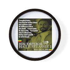 HIM Emperor Haile Selassie I Wall Clock