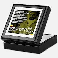 HIM Emperor Haile Selassie I Keepsake Box