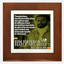 HIM Emperor Haile Selassie I Framed Tile