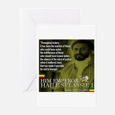 HIM Emperor Haile Selass Greeting Cards (Pk of 10)