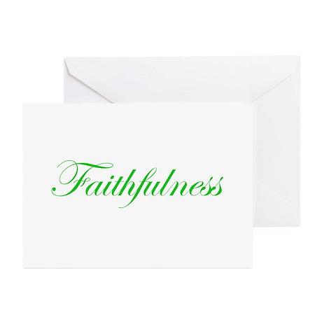 Faithfulness Greeting Cards (Pk of 10)