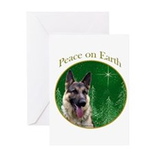 GSD Peace Greeting Card