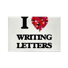 I love Writing Letters Magnets