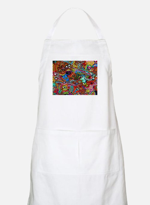 Abstract Painting Apron