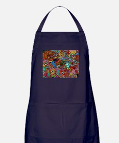 Abstract Painting Apron (dark)